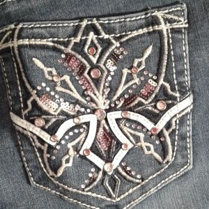 New with tag new directions denim Jean sz 6 boot